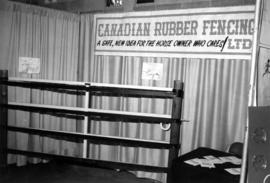 Canadian Rubber Fencing display