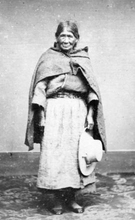 [Full length portrait of] Native [Woman] of Peru