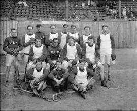 [Group photo of Vancouver Lacrosse Club]