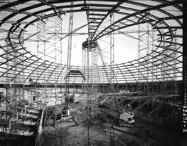 Construction of the Agrodome