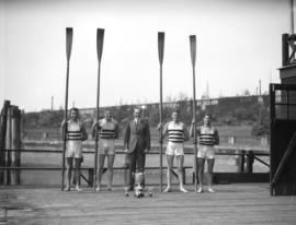 Vancouver Rowing Club: Winning Four - Kelowna Regatta