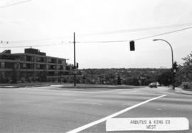 Arbutus [Street] and King Edward [Avenue looking] west