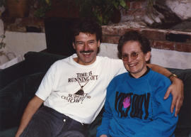 Richard Dopson with unidentified woman
