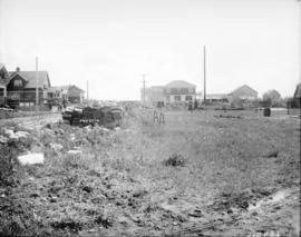 [View of 2100 block of 48th Avenue, looking east towards Maple Street]
