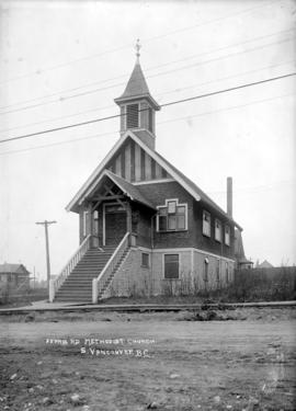 Ferris Rd. Methodist Church. S[outh] Vancouver, B.C.