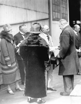 [Governor General Lord Byng's farewell visit]