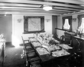 "[Dining room in the""Taconite""- R.V.Y.C.]"