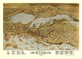 Panoramic view of the City of Vancouver, British Columbia, 1898