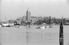 [View of Downtown from the water]