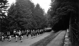 Unidentified parade [Stanley Park]