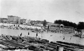[View of English Bay Beach]