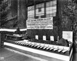 City Coal Co. display of model coal mine