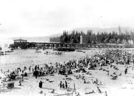 [Dominion Day at English Bay Beach]