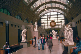 Sculptures and Art : Musee D'Orsay, Paris