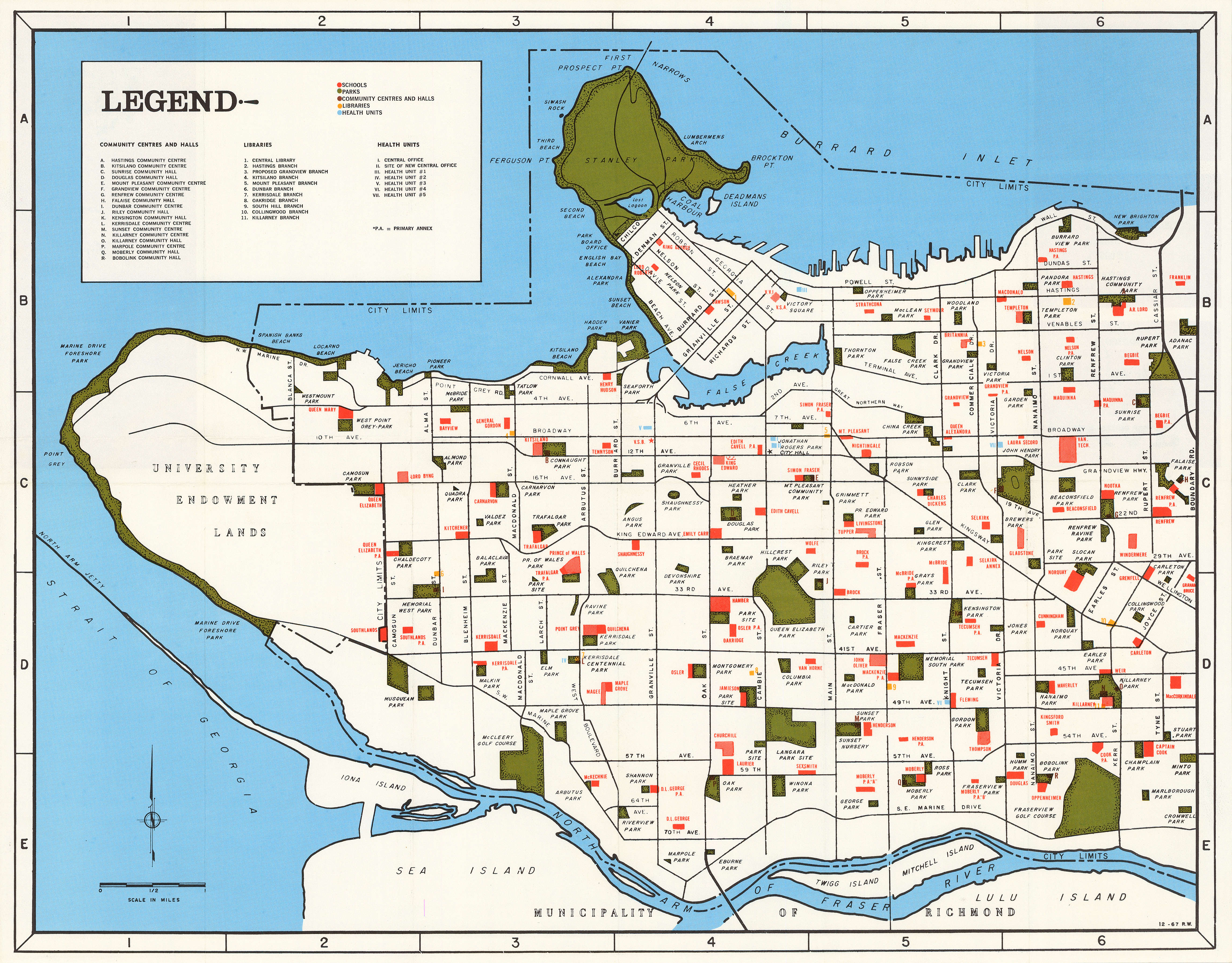 Elizabeth City Centre Map