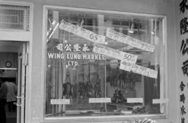 Wing Lung Market, 100 block East Pender south side