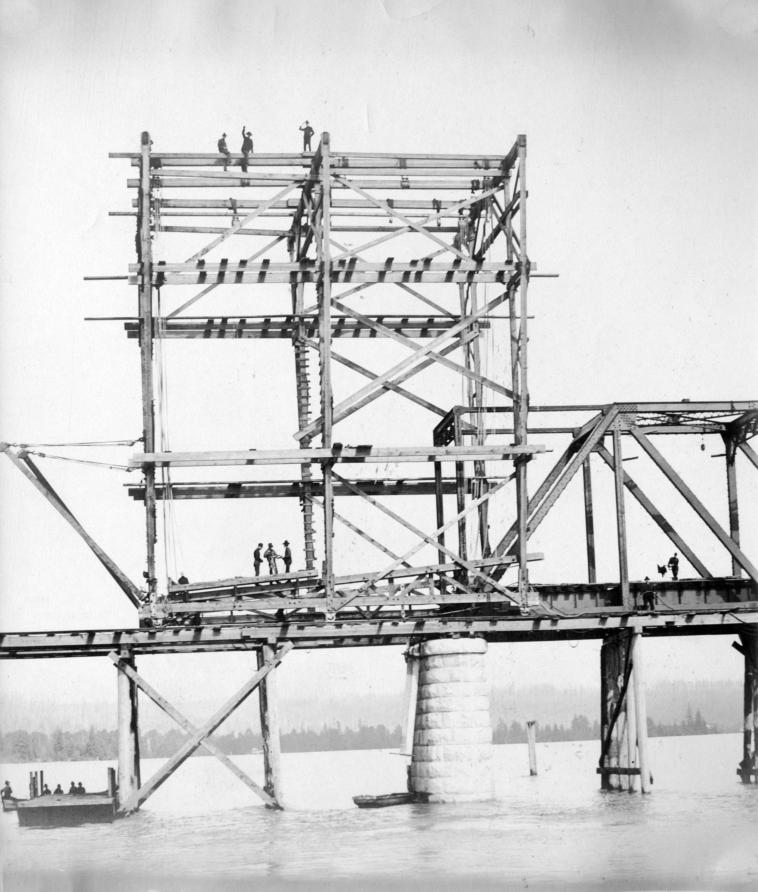 Superstructure: [Construction Of The Bridge Superstructure]