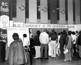 B.C. Turkey display