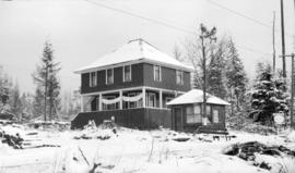[Pioneer home of James Quiney, northeast corner of Dunbar Road and Fourth Avenue]