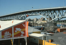 Expo 86 looking west from Kodak bowl