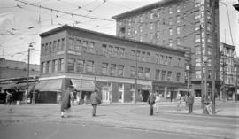 [N.E. Cornder of Main and Hastings Streets]