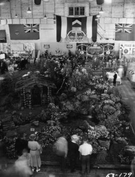 P.N.E. Horticultural Show with coronation-themed displays