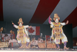 Balinese Dancers performance during the Centennial Commission's Canada Day celebrations