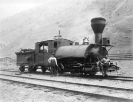 """Emory"" No. 2 ""Old Curly"" [C.P.R. locomotive]"