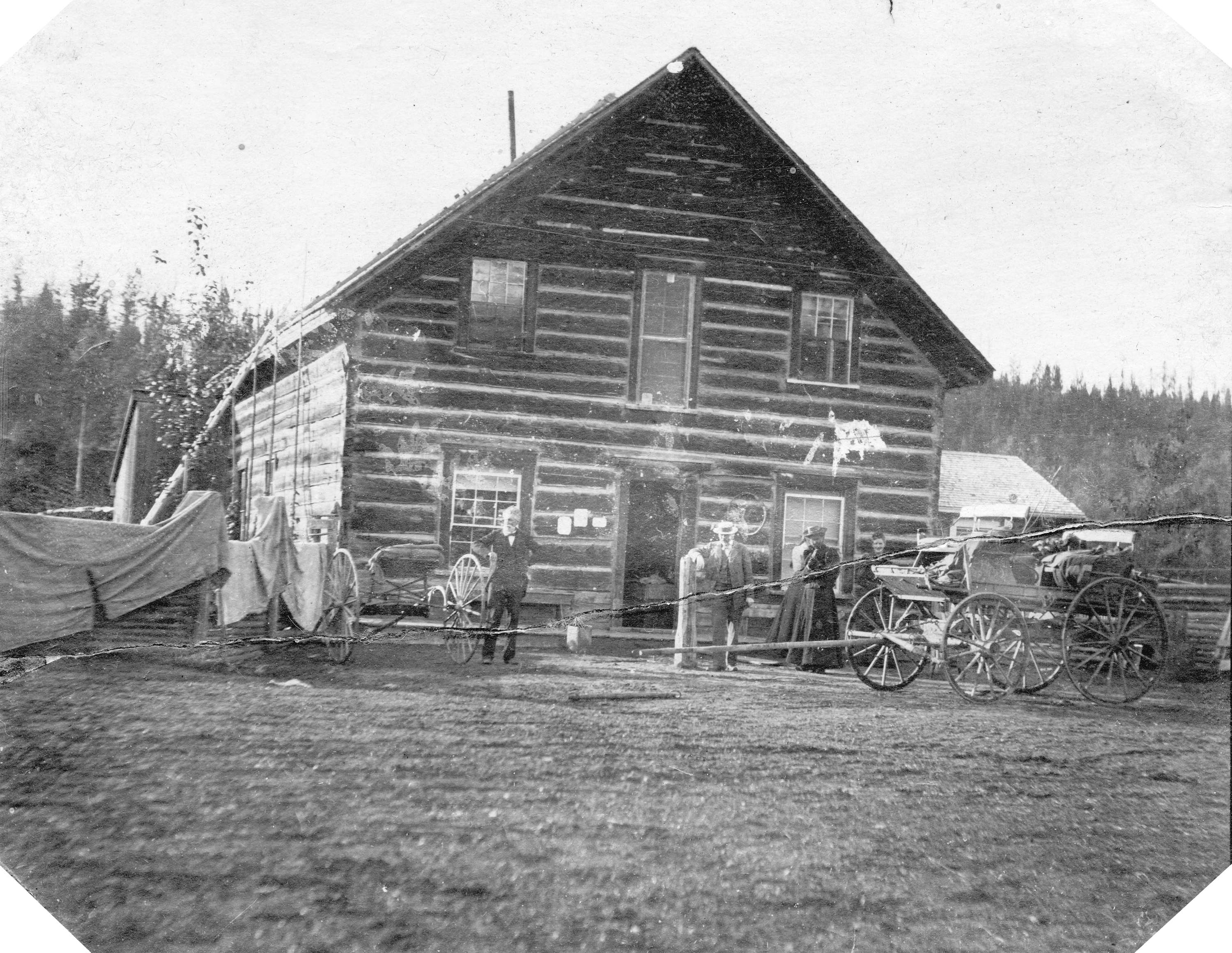 Cottonwood House On The Cariboo Wagon Road Near