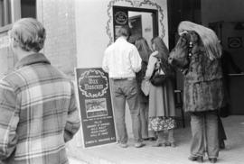 Customers at the ticket window at the Gastown Wax Museum, 21 Water Street