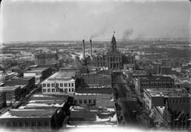 5 Fort Worth from N.W. Bldg. [northwest building]