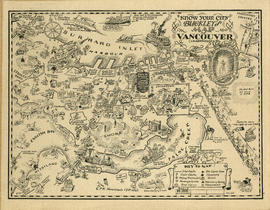 """Know your city"". Buckley's map of Vancouver (un-abridged)"