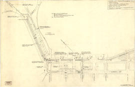 Sketch showing traffic plan for night functions in Stanley Park during Golden Jubilee period