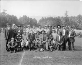 Cowichan Ball Club - Indian Sports - Brockton Point