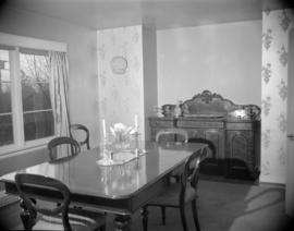 [Dining room in the Martin home]