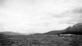 A B.C. ferry in the Gulf Islands