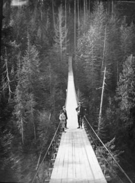 Capilano Canyon suspension bridge
