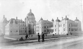 [Parliament Buildings shortly after opening]