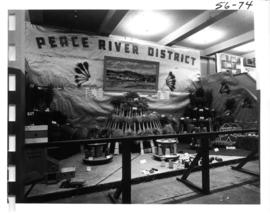 Peace River district agricultural display