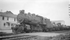 C.P.R. Steam, Pass. Eng. #724 [Class D10B, ten wheeler]