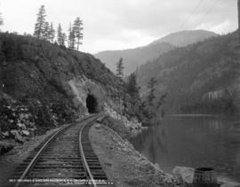 Columbia and Western Railway, C.P.R., Columbia River, B.C.