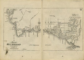 Sectional map and street directory of Vancouver : map of West Vancouver