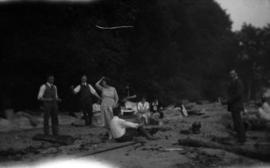 Picnic at Marine Drive : [U.B.C. students]