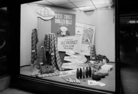 B.C.E.R. Co. Display Dept. - West Coast Woollen Mills Ltd