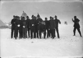 Group [of members of the] 79th [at] Camp Everman