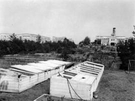 [Cold frames at U.B.C. Botanical Garden]