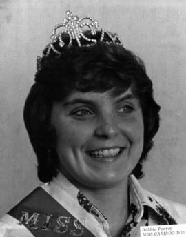 Debbie Perry, Miss Cariboo 1975 : [portrait]