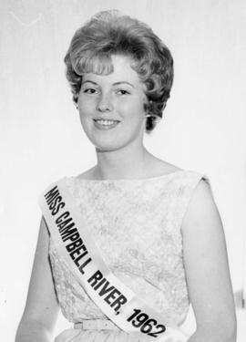 Carol Ann Mulligan, Miss Campbell River '62 : [portrait]
