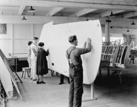 Boeing Aircraft Co. of Canada, flying boat wing construction