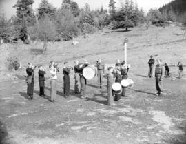 Cadet Band in Stanley Park